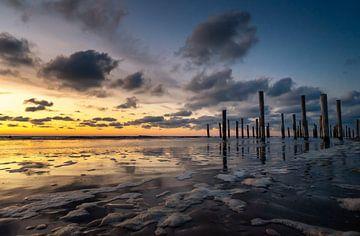 Sonnenuntergang von Peter van der Waard