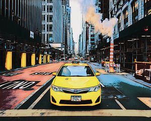 New York: Taxi van Dutch Digi Artist