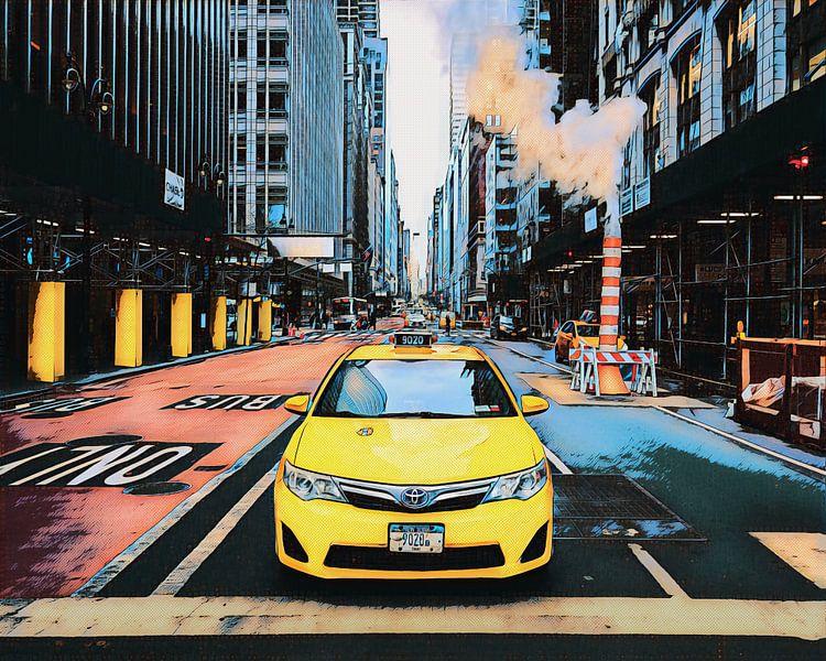 New York: Taxi von Dutch Digi Artist