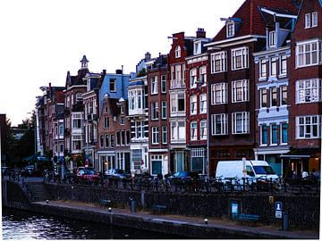 Grachtenpandjes Amsterdam von willemien kamps