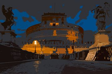 Castel Sant Angelo / Engelenburcht sur Peter Moerman