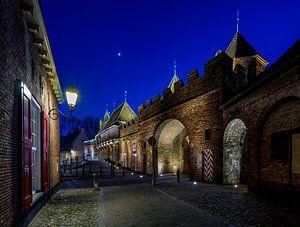 Amersfoort, Koppelpoort bij nacht van ruud van der graaf