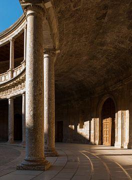 Paleis van Karel V - Alhambra sur Jack Koning