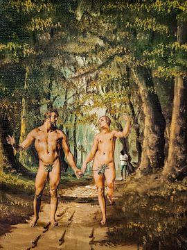 Unnoticed Adam and Eve