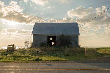 Sonnenuntergang-Farm von Robert de Boer