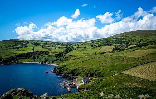 Iers landschap aan zee