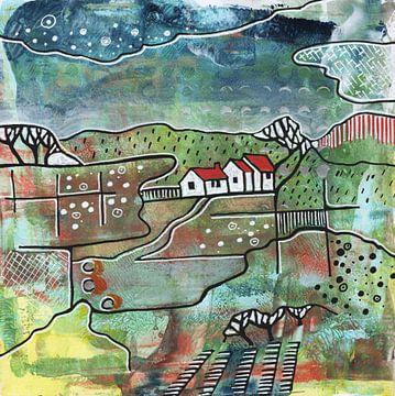 Saisonale Landschaft - Sommer von Ariadna de Raadt