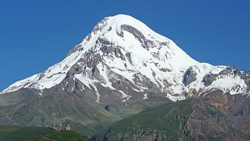 Kazbek, Georgië, Europa van Alexander Ludwig