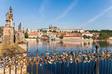 Les châteaux de l'amour à Prague sur Werner Dieterich