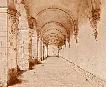 Abtei von Pontigny von Wim Lanphen