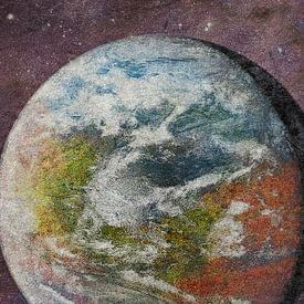Roter, grüner und blauer Mars von Frans Blok