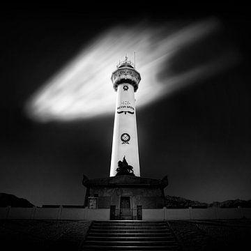 Leuchtturm Egmond aan Zee von Arthur van Orden