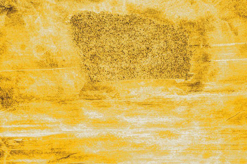 Minimalisme Kunst Fotografie Betonnen Muur Goud van Hendrik-Jan Kornelis