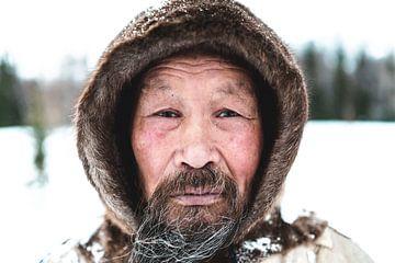 Porträt eines Nenet-Mannes von Milene van Arendonk