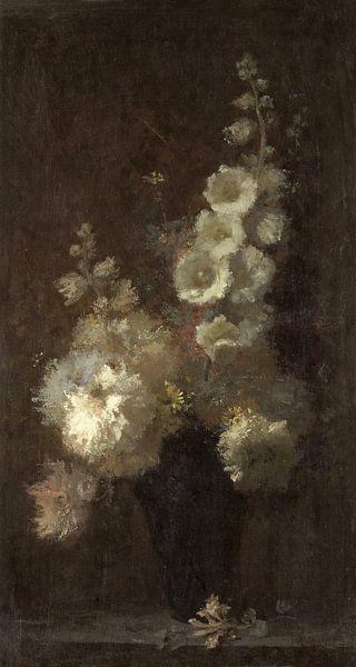 Stilleven met bloemen, Auguste Jouve - ca. 1873 (gezien bij vtwonen) van Het Archief
