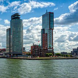 Rotterdam, Cruisterminal en Cruiseschip van Jan van Broekhoven