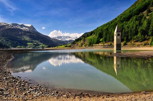 Lago di Resia / Italie van