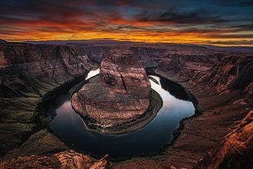 Spitsuur zonsondergang van Joris Pannemans - Loris Photography
