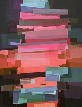 Abstracte samenstelling 777 van Angel Estevez