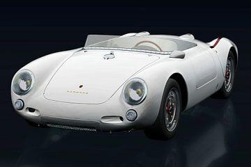 Porsche 550-A Spyder sur Jan Keteleer