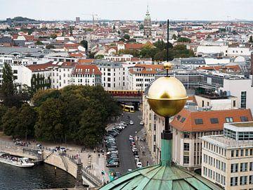 Berliner Dom uitzicht van