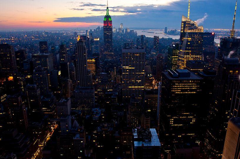 New York Midtown van Guido Akster