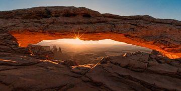 Mesa Arch, Canyonlands van Reinier Snijders