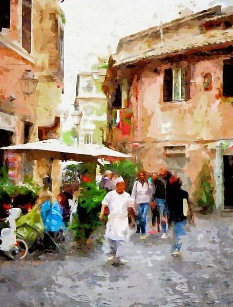 Italië van Andreas Wemmje