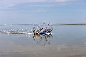 AMELAND Kotter op de Waddenzee van Paul Veen