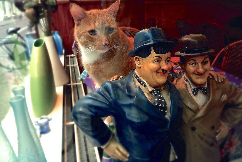 Katten en mensen van Marianna Pobedimova