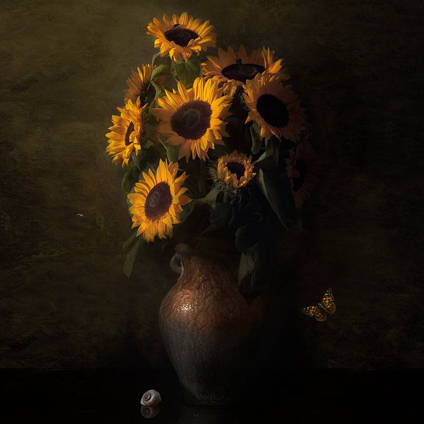 Royal Zonnebloem ode aan Vincent van Gogh van Sander Van Laar