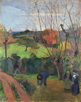 Paul Gauguin. Tahitian landscape