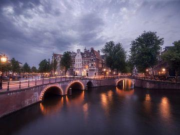 Amsterdam bei Nacht von Thomas Kuipers