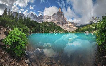 Dolomiten Lago di Sorapis Panorama von Jean Claude Castor