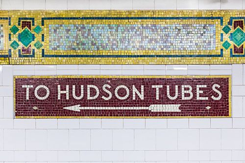 New York U-Bahn-Linien von Inge van den Brande