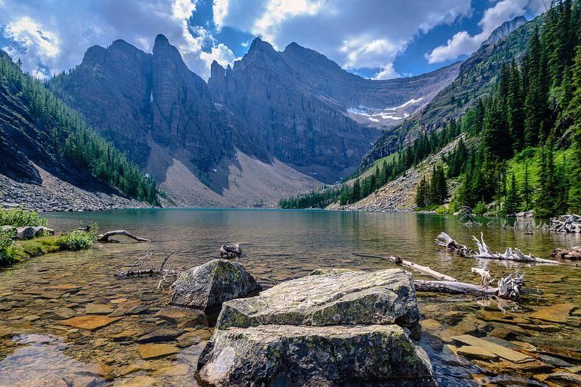 Lake Agnes van Peter Vruggink