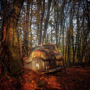 Old timer Urbex van