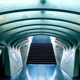 Alien stair von Werner V.M.