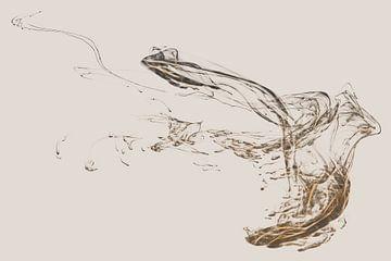 Vogel 2 von Dick Jeukens