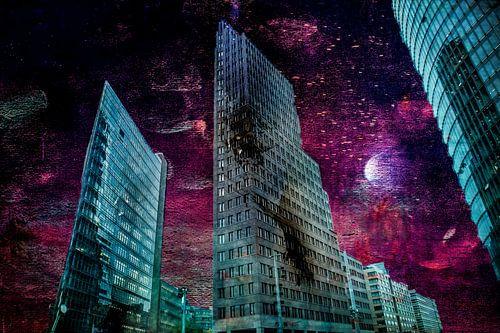 Berlin by night van