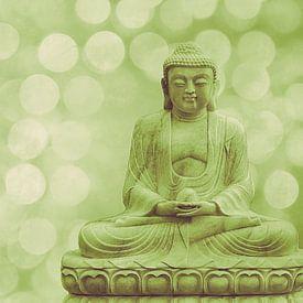 buddha light green van Hannes Cmarits