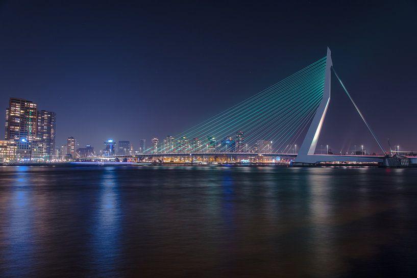 Erasmusbrug Rotterdam van kevin Schenk