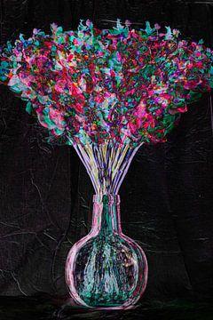 Blumenstillleben für Mutter von Louis Warnier