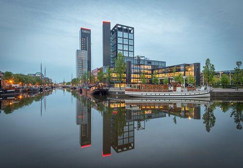 Leeuwarden Skyline Avero aan de Westersingel