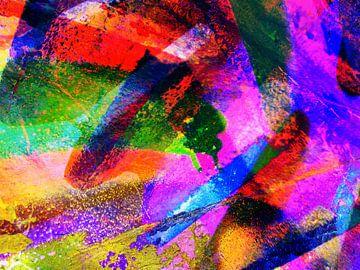 Modern, Abstract kunstwerk - Show Me The Way van Art By Dominic