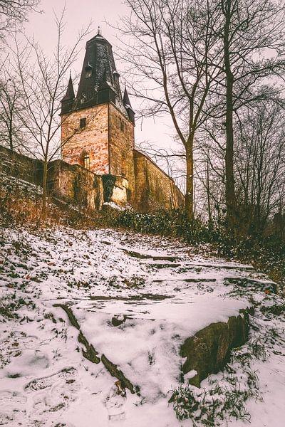 Burg Bad Bentheim von Edith Albuschat
