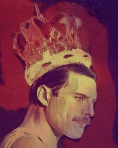 Freddie Mercury The King Classic Pop Art PUR