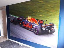 Klantfoto: Max Verstappen in actie tijdens de Grand-Prix van Oostenrijk 2017 van Justin Suijk, op naadloos behang