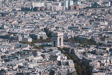 Uitzicht vanaf de Eiffeltoren van Sven Frech