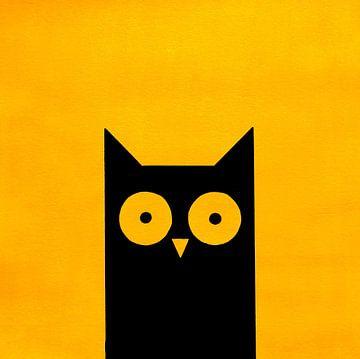 SUNNY BLACK-YELLOW van Ans de Bie